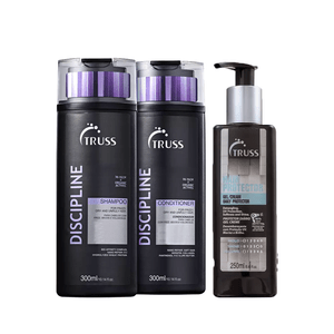 click-mais-beleza-truss-kit-trio-discipline-shampoo-condicionador-leave-in-frente