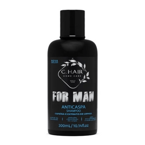 click-mais-beleza-shampoo-for-man-anticaspa-ghair-300ml